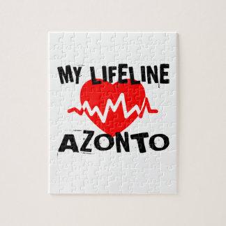 MY LIFE LINA AZONTO DANCE DESIGNS JIGSAW PUZZLE