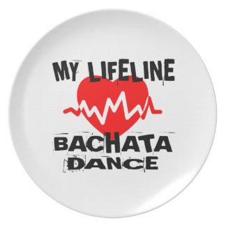 MY LIFE LINA BACHATA DANCE DESIGNS PLATE
