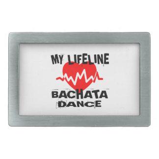 MY LIFE LINA BACHATA DANCE DESIGNS RECTANGULAR BELT BUCKLE