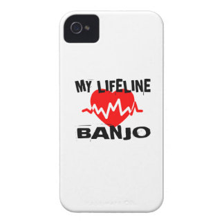 MY LIFE LINA BANJO MUSIC DESIGNS iPhone 4 COVERS