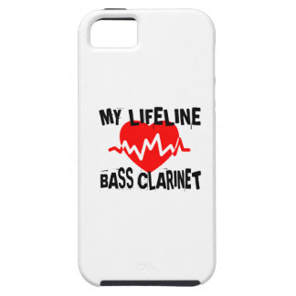 MY LIFE LINA BASS CLARINET MUSIC DESIGNS iPhone 5 COVER