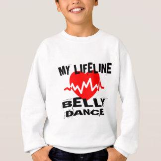 MY LIFE LINA BELLY DANCE DESIGNS SWEATSHIRT