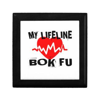 MY LIFE LINA BOK FU MARTIAL ARTS DESIGNS GIFT BOX