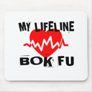 MY LIFE LINA BOK FU MARTIAL ARTS DESIGNS MOUSE PAD