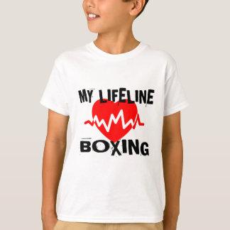 MY LIFE LINA BOXING MARTIAL ARTS DESIGNS T-Shirt
