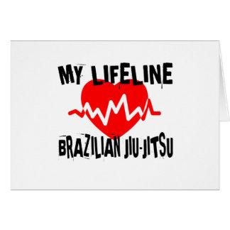 MY LIFE LINA BRAZILIAN JIU-JITSU MARTIAL ARTS DESI CARD