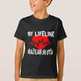 MY LIFE LINA BRAZILIAN JIU-JITSU MARTIAL ARTS DESI T-Shirt