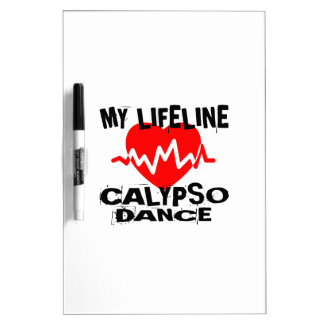 MY LIFE LINA CALYPSO DANCE DESIGNS DRY ERASE BOARD