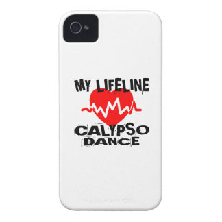 MY LIFE LINA CALYPSO DANCE DESIGNS iPhone 4 Case-Mate CASE