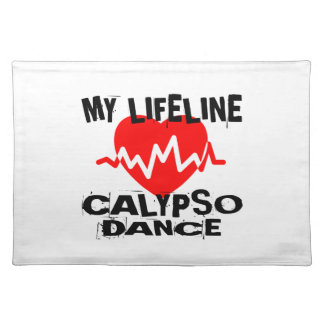 MY LIFE LINA CALYPSO DANCE DESIGNS PLACEMAT