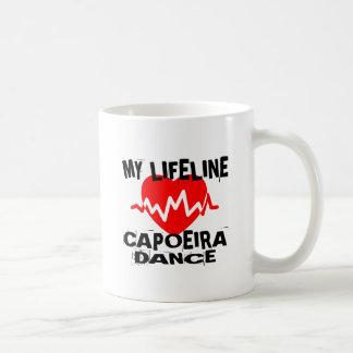 MY LIFE LINA CAPOEIRA DANCE DESIGNS COFFEE MUG