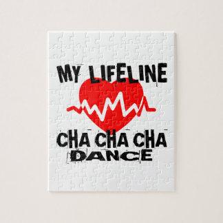 MY LIFE LINA CHA CHA CHA DANCE DESIGNS JIGSAW PUZZLE