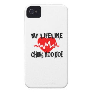 MY LIFE LINA CHUNG MOO DOE MARTIAL ARTS DESIGNS iPhone 4 CASE
