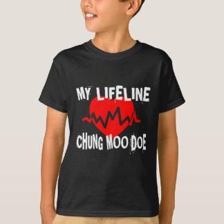 MY LIFE LINA CHUNG MOO DOE MARTIAL ARTS DESIGNS T-Shirt