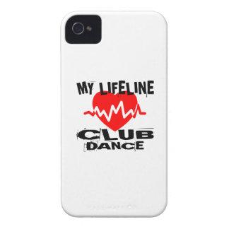 MY LIFE LINA CLUB DANCE DESIGNS iPhone 4 CASE