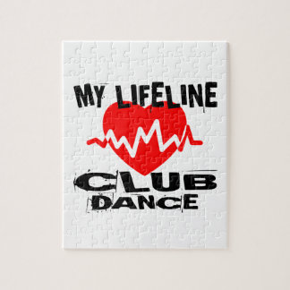 MY LIFE LINA CLUB DANCE DESIGNS JIGSAW PUZZLE