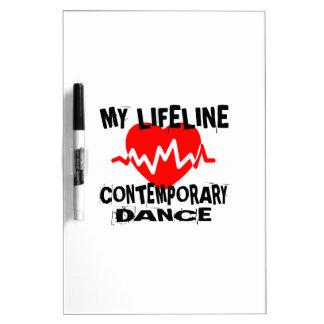 MY LIFE LINA CONTEMPORARY DANCE DESIGNS DRY ERASE BOARD