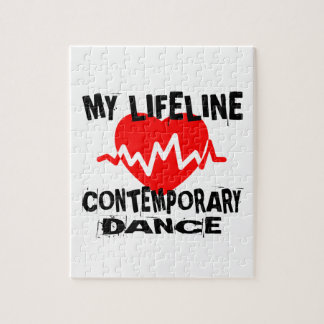 MY LIFE LINA CONTEMPORARY DANCE DESIGNS JIGSAW PUZZLE