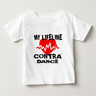 MY LIFE LINA CONTRA DANCING DANCE DESIGNS BABY T-Shirt