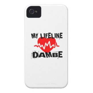 MY LIFE LINA DAMBE MARTIAL ARTS DESIGNS iPhone 4 Case-Mate CASE