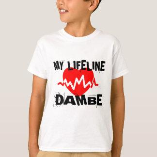 MY LIFE LINA DAMBE MARTIAL ARTS DESIGNS T-Shirt