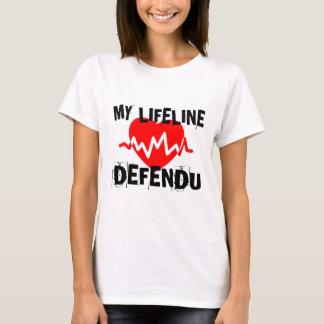 MY LIFE LINA DEFENDU MARTIAL ARTS DESIGNS T-Shirt