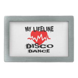 MY LIFE LINA DISCO DANCE DESIGNS BELT BUCKLE