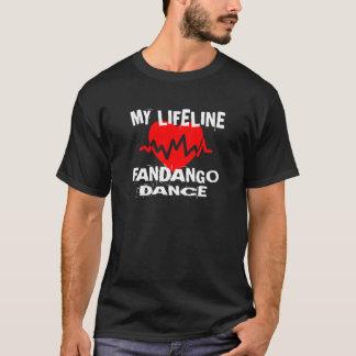 MY LIFE LINA FANDANGO DANCE DESIGNS T-Shirt