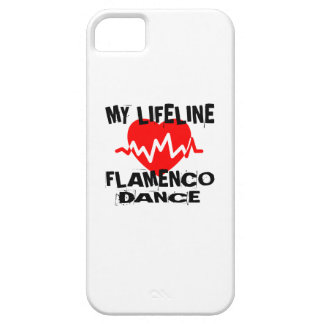 MY LIFE LINA FLAMENCO DANCE DESIGNS BARELY THERE iPhone 5 CASE