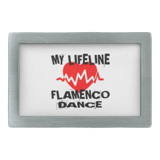 MY LIFE LINA FLAMENCO DANCE DESIGNS BELT BUCKLE