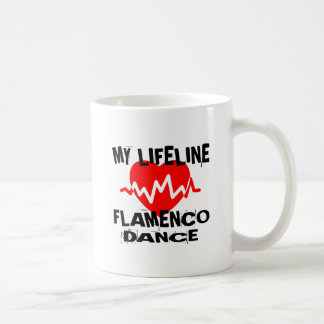 MY LIFE LINA FLAMENCO DANCE DESIGNS COFFEE MUG