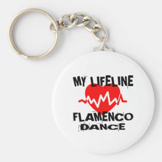 MY LIFE LINA FLAMENCO DANCE DESIGNS KEY RING