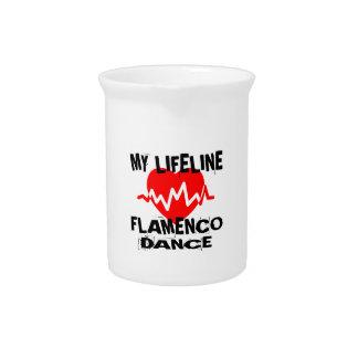 MY LIFE LINA FLAMENCO DANCE DESIGNS PITCHER