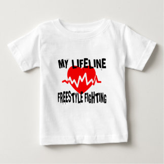 MY LIFE LINA FREESTYLE FIGHTING MARTIAL ARTS DESIG BABY T-Shirt