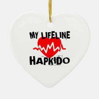 MY LIFE LINA HAPKIDO MARTIAL ARTS DESIGNS CERAMIC ORNAMENT