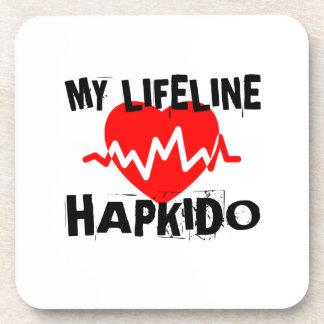 MY LIFE LINA HAPKIDO MARTIAL ARTS DESIGNS COASTER