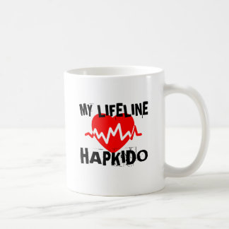 MY LIFE LINA HAPKIDO MARTIAL ARTS DESIGNS COFFEE MUG