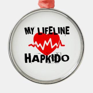 MY LIFE LINA HAPKIDO MARTIAL ARTS DESIGNS METAL ORNAMENT