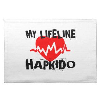 MY LIFE LINA HAPKIDO MARTIAL ARTS DESIGNS PLACEMAT