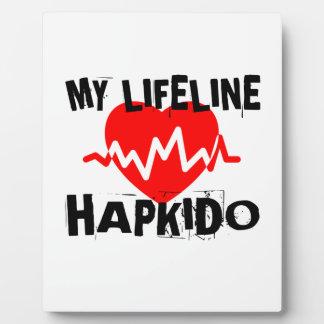 MY LIFE LINA HAPKIDO MARTIAL ARTS DESIGNS PLAQUE