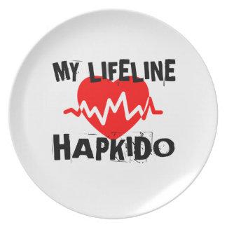 MY LIFE LINA HAPKIDO MARTIAL ARTS DESIGNS PLATE