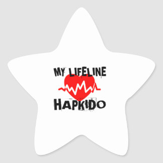 MY LIFE LINA HAPKIDO MARTIAL ARTS DESIGNS STAR STICKER