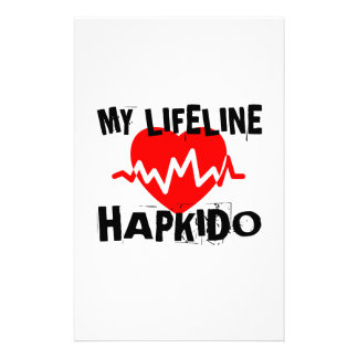 MY LIFE LINA HAPKIDO MARTIAL ARTS DESIGNS STATIONERY