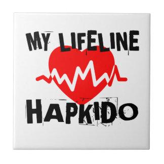MY LIFE LINA HAPKIDO MARTIAL ARTS DESIGNS TILE
