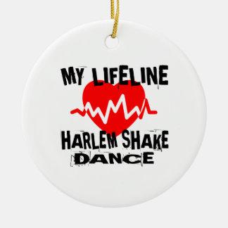 MY LIFE LINA HARLEM SHAKE DANCE DESIGNS CERAMIC ORNAMENT
