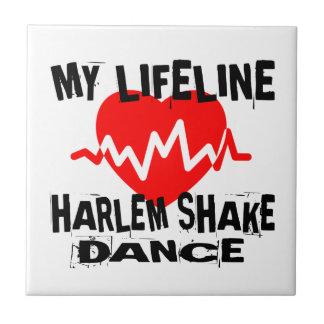 MY LIFE LINA HARLEM SHAKE DANCE DESIGNS CERAMIC TILE
