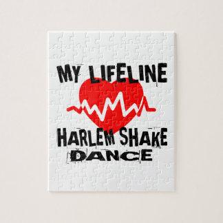 MY LIFE LINA HARLEM SHAKE DANCE DESIGNS JIGSAW PUZZLE