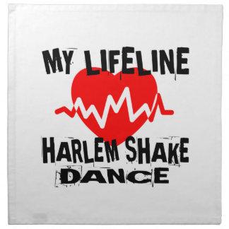 MY LIFE LINA HARLEM SHAKE DANCE DESIGNS NAPKIN