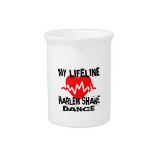 MY LIFE LINA HARLEM SHAKE DANCE DESIGNS PITCHER