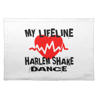 MY LIFE LINA HARLEM SHAKE DANCE DESIGNS PLACEMAT